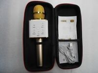 MICROPHONE GOLD BRAND NEW WITH RECEIPT