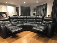Leather sofa £400 ONO