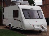 Elddis Avante 464 4 berth caravan with bunk beds