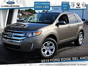 2013 Ford Edge **SEL*AWD*NAV*CAMERA*CRUISE*A/C 2 ZONES**
