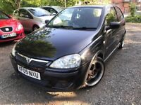 05 plate - vauxhall corsa 1.2 petrol - 7 months mot - warranted low 76K - water pump done