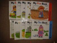 childrens number book set