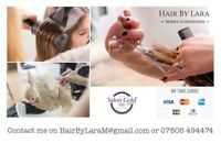 Hair By Lara Mobile Hairdressing service