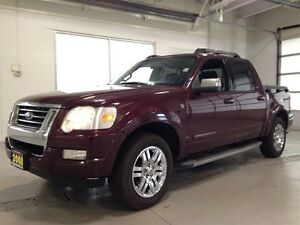 2008 Ford Explorer Sport Trac LIMITED| LEATHER| DVD| SYNC| 4X4|  Kitchener / Waterloo Kitchener Area image 3