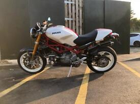 Ducati Monster S4RS Testastretta. White. Immaculate. LOW miles.