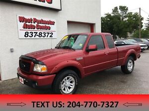 2009 Ford Ranger XL 4X4 Extended Cab