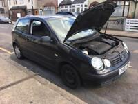 Volkswagen polo 1.4 2002 3dr Drives Spares or repair.... Civic Yaris Clio Astra