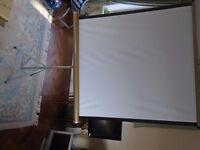 Vintage projector screen only used twice
