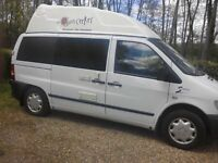 Mercedes vito 110 cdi 4 berth
