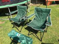 Camping chairs- new!
