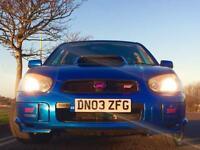 Subaru STI WRX Type UK 2003