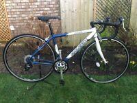 Raleigh Airlite100 Road Bike- 20 ins frame
