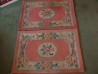 Pair of bedside rugs for sale