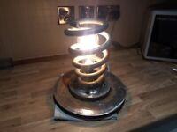 Table lamp ..man cave ..steam punk