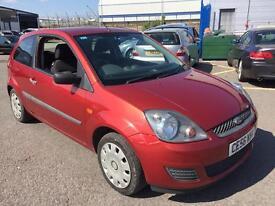 Ford Fiesta 1.25 petrol red 2006