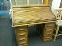 Roll top antique desk #34647 £350