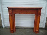 Fire Surround - Gorgeous carved design, pre-loved and good sized surrounding.