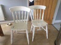 Chairs and chest of drawers for sale