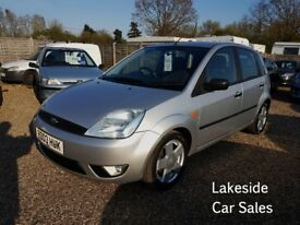Ford Fiesta 1.4 Zetec 5 Door Hatchback, Full Service History, Drives Superb, Will Come With New MOT.