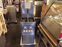 COMMERCIAL CATERING VALENTINE TWIN TANK FRYER RESTAURANT CAFE KEBAB FASTFOOD CHICKEN/FISH & CHIPS