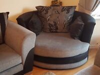 large cuddly/swivel chair