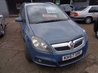 Vauxhall Zafira 7 Seater 1.9 CDTI FREE WARRANTY