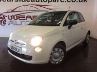 FIAT 500 1.2 Pop 3dr (white) 2014