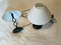 Touch sensitive table bedside lamps