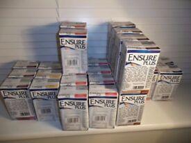 Ensure Plus - 50 cartons of 200ml cartons- various flavours