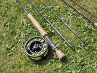 JOB LOT of fishing rods reels and lines..BRAND NEW