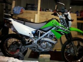 2015 Kawasaki klx 125 4 stroke electric start low miles 1500 very good condition