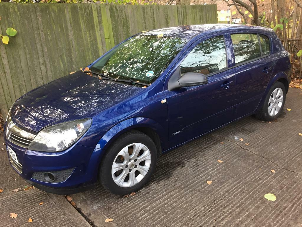 Vauxhall Astra 1.4 breeze 2008 Blue 60,000 miles MOT full service history