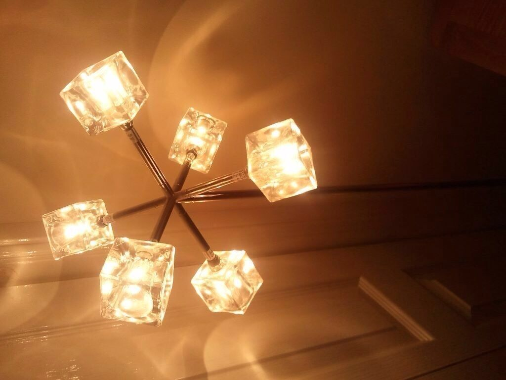 Ikea isasa ceiling light ice cube light in dunfermline fife ikea isasa ceiling light ice cube light aloadofball Choice Image