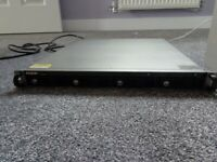 QNAP TS412U NAS/NVR 8TB (4x 2TB) Hard Drives Installed for sale  Sible Hedingham, Essex