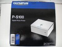 OLYMPUS PS 100 DIGITAL PHOTO PRINTER NEW