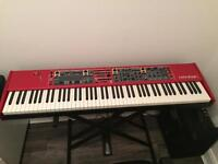 Nord Stage 2 88 EX 88, and official Nord Case