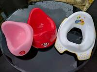 Minnie mouse and Winnie the Pooh potty training bundle