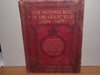Great War book of names who served in the 14'18 war from Southampton