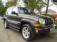 JEEP CHEROKEE 2.8 TD 2006 4X4 LIMITED AUTO ONLY 68,000 MILES HPI CLEAR COMPLETE WITH M.O.T