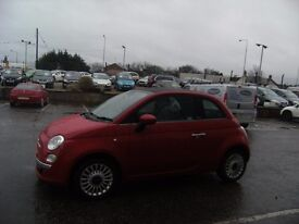 2010 10 FIAT 500 1.2 C LOUNGE 3D 69 BHP **** GUARANTEED FINANCE **** PART EX WELCOME ****