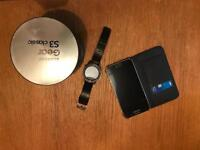 Samsung Galaxy S6 and Samsung gear S3 Classic smartwatch