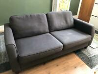 Sofa - grey/navy, Debenhams