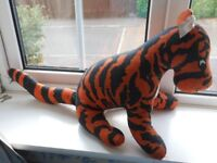 Tigger soft toy from Winnie the Pooh books