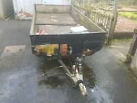 9ft x 5ft Twin axle trailer