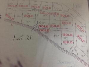 Lake lot or acreage Joussard, AB   South West Shores