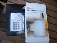 SECURITY KEY PAD ALARM SYSTEM