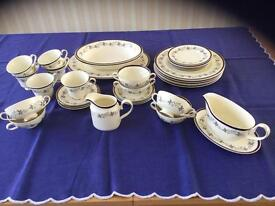 Vintage Bone china dinner & tea service