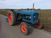 1958 Fordson Major diesel