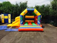 Bouncy castle hire only £40 per day for any size castle!