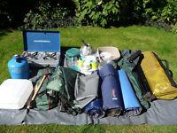 Full set of camping equipment £90.00